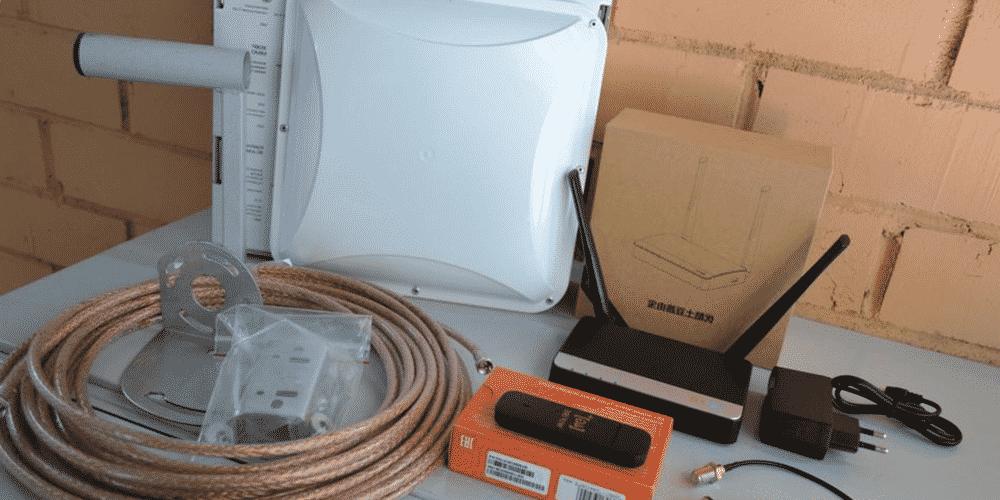 Комплекты оборудования усиления интернет сигнала