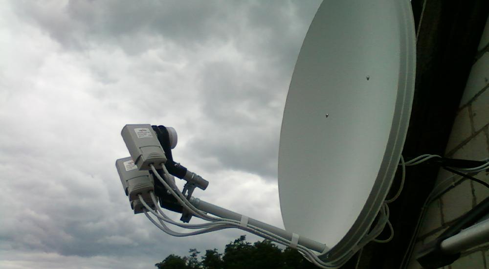 Как подключить спутниковое ТВ в Мытищах