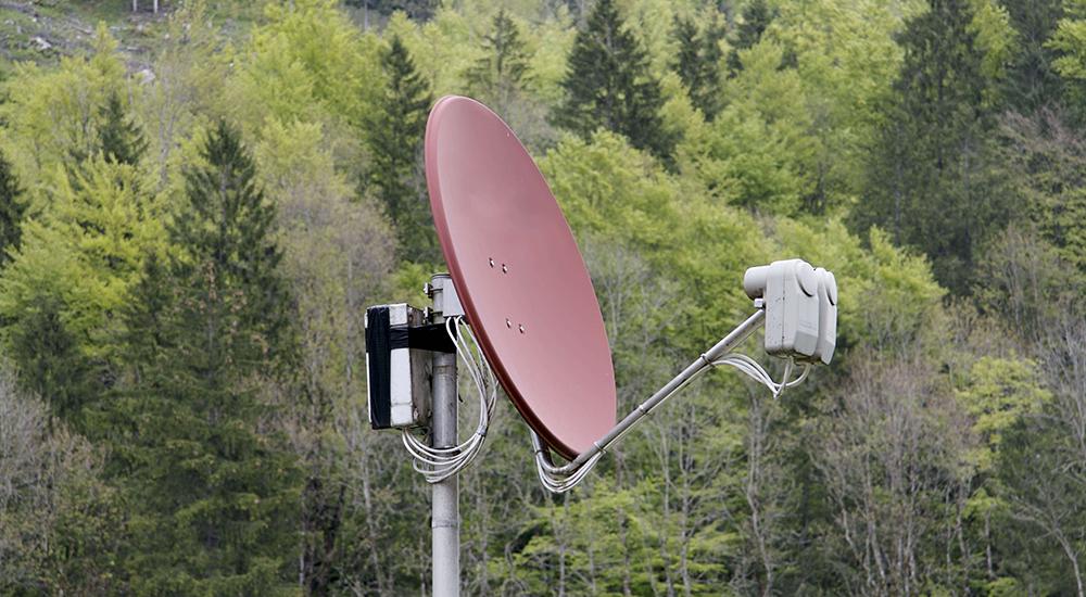 Как сделать спутниковый интернет на дачу